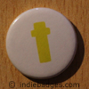 Lowercase T Button Badge