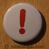 Punctuation Exclamation Mark Button Badge