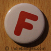 Uppercase F Button Badge