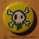 Skull 1 Button Badge