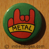 Metal Salute 2 Button Badge