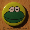 Cute Frog 1 Button Badge