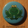 Cute Frog 2 Button Badge