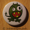 Cute Monster Button Badge