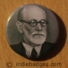 Freud Button Badge