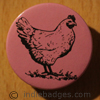 Hen 1 38mm Button Badge