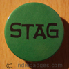 Stag 1 38mm Button Badge