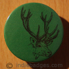 Stag 4 38mm Button Badge