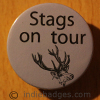 Stags On Tour 2 38mm Button Badge