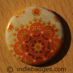 Pattern 4 Button Badge