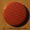 Pattern 10 Button Badge