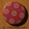 Pattern 15 Button Badge