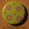 Pattern 16 Button Badge