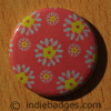 Pattern 17 Button Badge