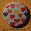 Pattern 25 Button Badge