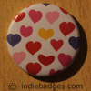Pattern 27 Button Badge