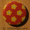 Pattern 8 Button Badge
