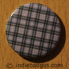 Tartan Pattern 1 Button Badge