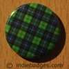 Tartan Pattern 2 Button Badge