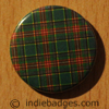 Tartan Pattern 4 Button Badge