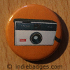 Retro Camera 1 Button Badge