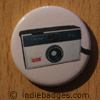 Retro Camera 3 Button Badge