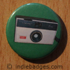 Retro Camera 4 Button Badge