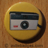 Retro Camera 5 Button Badge
