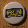 Retro Cassette Tape 1 Button Badge