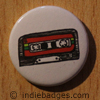 Retro Cassette Tape 4 Button Badge