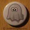Retro Gamer Ghost 6 Button Badge