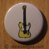 Retro Guitar 1 Button Badge
