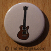 Retro Guitar 7 Button Badge