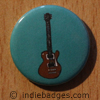 Retro Guitar 8 Button Badge
