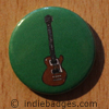 Retro Guitar 9 Button Badge