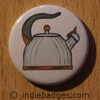Retro Kettle 1 Button Badge