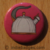 Retro Kettle 2 Button Badge
