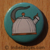 Retro Kettle 4 Button Badge