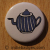Retro Teapot 3 Button Badge