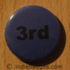 Blue 3rd Button Badge