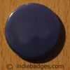 Blue Coloured Button Badge