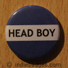 Blue Head Boy Button Badge