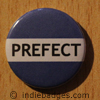 Blue Prefect Button Badge