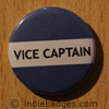 Blue Vice Captain Button Badge