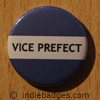 Blue Vice Prefect Button Badge
