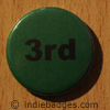 Green 3rd Button Badge