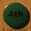 Green 4th Button Badge