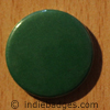 Green Coloured Button Badge