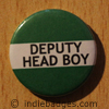 Green Deputy Head Boy Button Badge