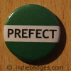 Green Prefect Button Badge